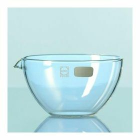 Duran Evaporating dish, flat bottom with spout - 15 ml