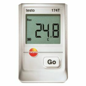 Testo 174T SET - USB interface, holder, batteries, 70°C
