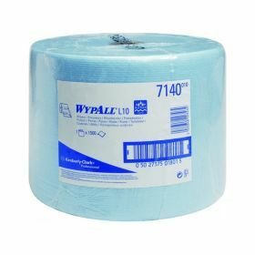 Wypall L10 Extra wipers, blue, roll (1500 wipers) 1-ply