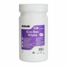 Eco-Bac Wipes 150x food-wipes (disinfectant)