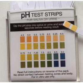 pH  Indicator strips  4,5 -> 9 (100 pcs)