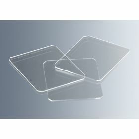 Haemacytometer cover glass for counting chamber 22x22mm