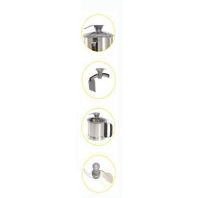 Robot-coupe - Bowl, knife, lid and scraper arm (Blixer 4 range)