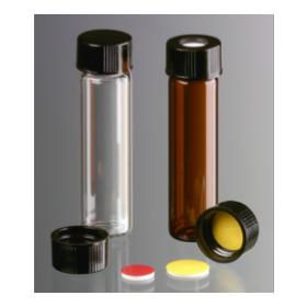 Brown Screwcap, thread 15-425 with butyl/PTFE liner