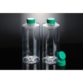 Roller Bottle SPL 850cm²  PS/HDPE plug cap