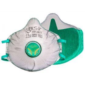 BLS Zer0 30 cup mask FFP3 Nano - valve - partial gasket