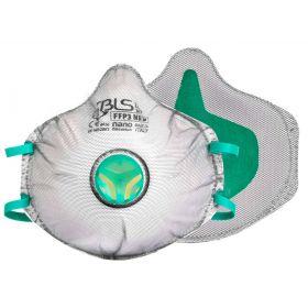 BLS Zer0 31C cup mask FFP3 Nano - valve - full gasket - activated carbon