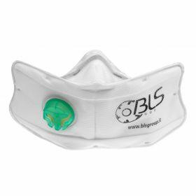 BLS 860 folded mask FFP3 Nano - valve