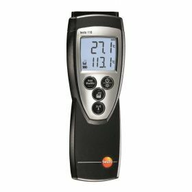 Testo 110 - Temperature meter, NTC, 2 channels