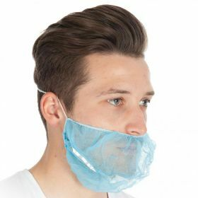 Beard mask PP nonwoven detectable blue DTECT