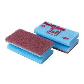 Sponge Scotch-Brite cleaning 55 blue/red