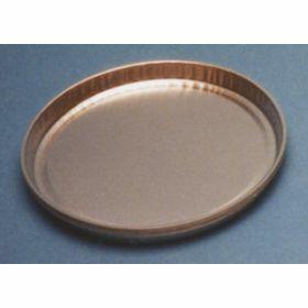 Aluminium cup  D102mm H7mm with low rim