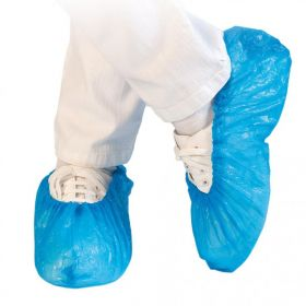 Overshoes STANDARD approximately 40 micron Blue