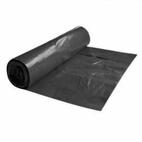 Waste bags LDPE on roll 120L, black, 80µm