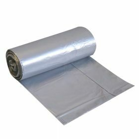Garbage bag LDPE 20 pieces on a roll 60L- gray- 30µm + drawstring