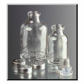 Serum bottle 100ml amber boro glass 52x95mm; neck 20 mm