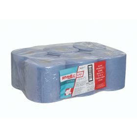 Wypall L10 wipers, roll (525 wipers) blue, 1-ply