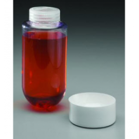 centrifuge bottle 250ml RB, PC, with PP screw cap