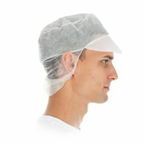 PP Eco Snood cap with hair protection Ø31 cm