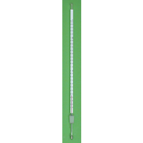 Thermometer red filling 250mm -10°C... +150°C:1.0 + NS 14,5/23