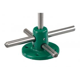 Bochem 5060 Foot for rods, green varnished