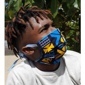 Fabric face mask - POYBOY - adult - tie