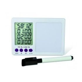 Timer with white board - 4 channels