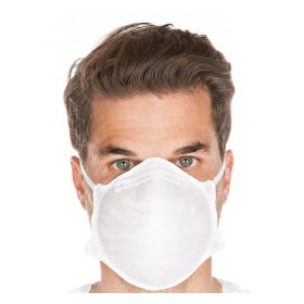 Disposable mask FFP2 NR - without valve - white