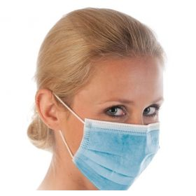 Surgical mask 3-ply Type IIR - PP - blue