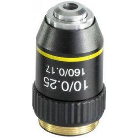 Objective achromatic 10 x / 0,25 OBB A1108