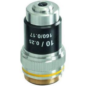 Objective achromatic 10 x / 0,25 OBB A1477