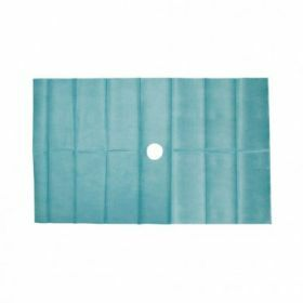 Sterile field 45x75cm2lgs S/1 - with 5cm opening