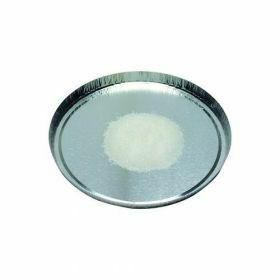 Aluminium sample dishes and containers , round shape