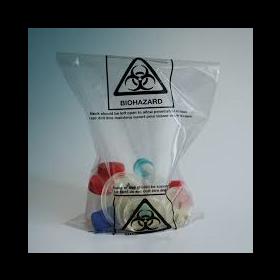 Autoclavable bag - PP - 40µm - with Biohazard logo