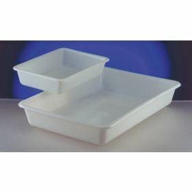 Flat tray in HDPE