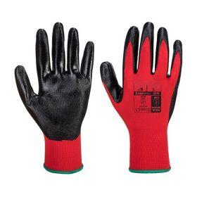 Flexo Grip Nitrile Gloves Red / Black
