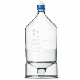 Duran HPLC reservoir bottle with conical base - GL45