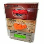 Universal 3-box holder for glove boxes - acrylic